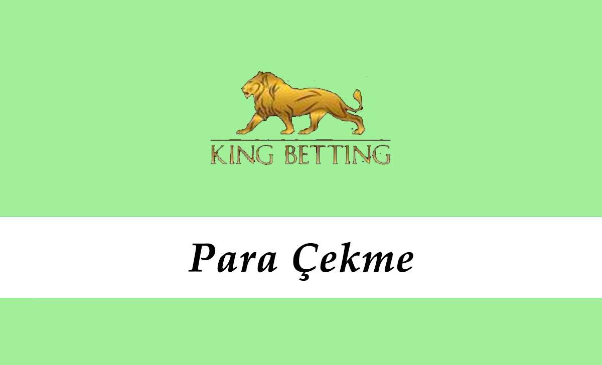 King Betting Para Çekme